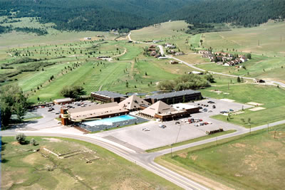 Aerial MONTANA   Fairmont Hot Springs Resort and Estates Condominiums