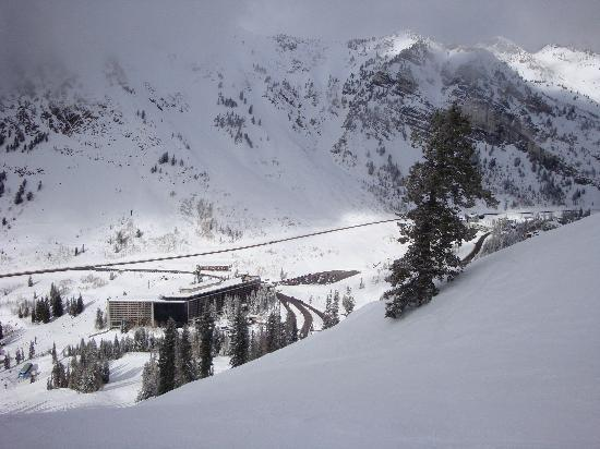 Cliff Club at Snowbird Aerial