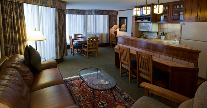 Cliff Club At Snowbird Studio Living Room Mountain Condo